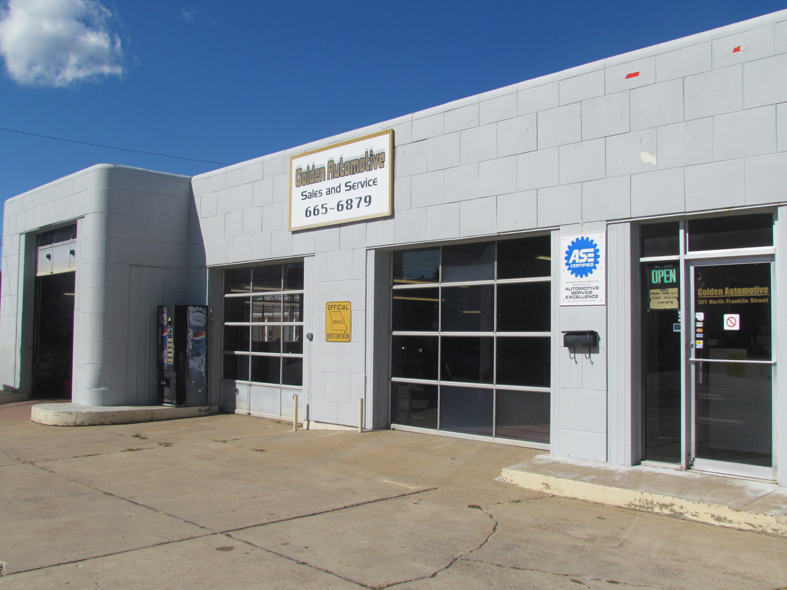 Golden Automotive, Kirksville, MO